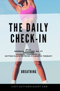 The Daily Check-In with Barbara (Breathe a litte easier)